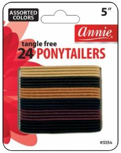 Tangle Free Ponytailer 24ct  #3354