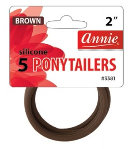 Silicone Ponytailers #3381