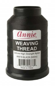 High Strength Thread 500m, Black #4878