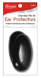 Ear protectors 2ct, Black #5458