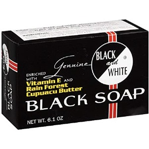 Black & White Black Soap 6.1oz