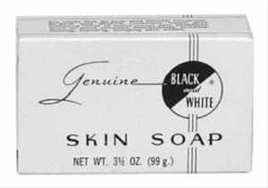 Black & White Skin Soap 3.5oz
