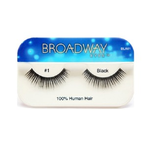 Kiss Broadway Eyes Eyelashes #1, Black
