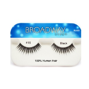 Kiss Broadway Eyes Eyelashes #15, Black