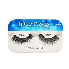 Kiss Broadway Eyes Eyelashes #203, Black