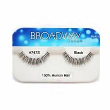Kiss Broadway Eyes Eyelashes #747S, Black