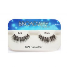 Kiss Broadway Eyes Eyelashes #43, Black