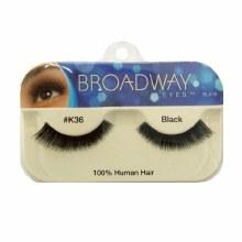 Kiss Broadway Eyes Eyelashes #K36, Black