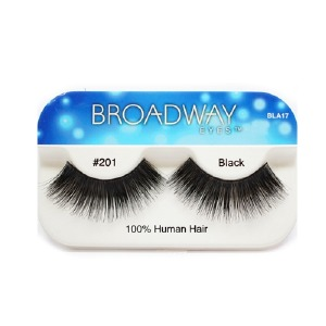 Kiss Broadway Eyes Eyelashes #201, Black