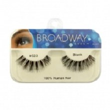 Kiss Broadway Eyes Eyelashes #523, Black