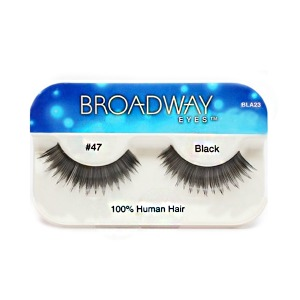 Kiss Broadway Eyes Eyelashes #47, Black