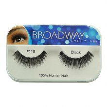 Kiss Broadway Eyes Eyelashes #119, Black