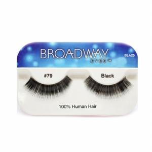 Kiss Broadway Eyes Eyelashes #79, Black