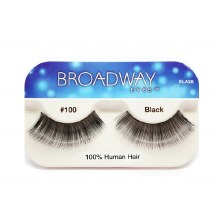 Kiss Broadway Eyes Eyelashes #100, Black