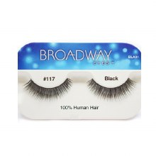 Kiss Broadway Eyes Eyelashes #117, Black