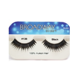 Kiss Broadway Eyes Eyelashes #138, Black
