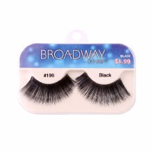 Kiss Broadway Eyes Eyelashes #199, Black