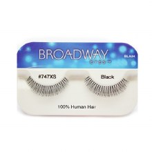 Kiss Broadway Eyes Eyelashes #747XS, Black