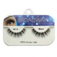 Kiss Broadway Eyes Eyelashes #415, Black