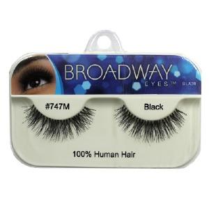 Kiss Broadway Eyes Eyelashes #747M, Black