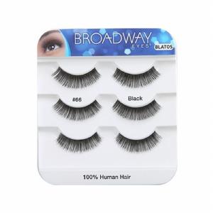 Kiss Broadway Eyes Eyelashes #66, Black