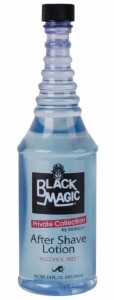 Black Magic After Shave Lotion Blue 14oz