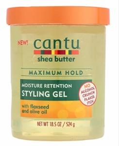 Cantu Shea Butter Maximum Hold Moisture Retention Styling Gel 18.5oz