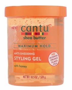 Cantu Shea Butter Maximum Hold Anti-Shedding Styling Gel 18.5oz