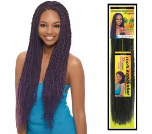 "3X Afro Twist Caribbean Braid 80"""