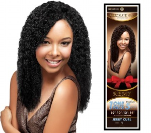 Chocolate Jerry Curl 5pc