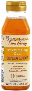 Creme of Nature Pure Honey Texturizing Curl Setting Lotion 12oz