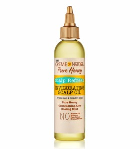 Creme of Nature Pure Honey Scalp Refresh Invigorating Scalp Oil 4oz