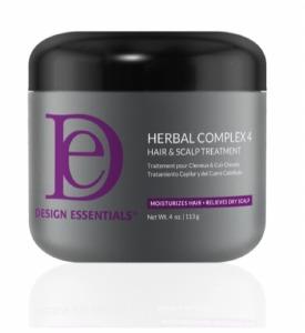 Design Essentials Herbal Complex 4 Hair & Scalp Treatment 4oz