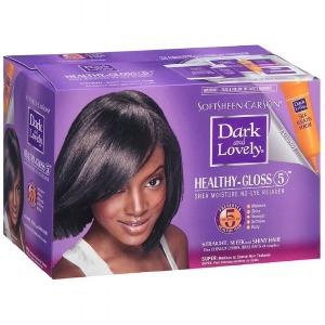 Dark & Lovely No-Lye Relaxer Kit Super