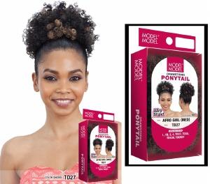 Drawstring Ponytail Afro Girl Medium