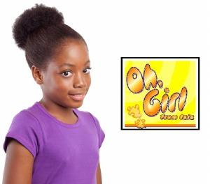 Oh Girl Kid's Badu Drawstring Ponytail