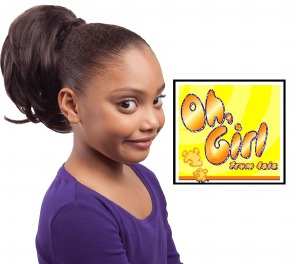 Oh Girl Kid's Yaky Drawstring Ponytail