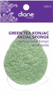 Diane Green Tea Konjac Facial Sponge D0015