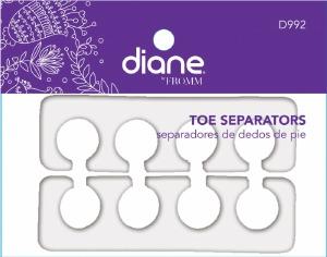 Diane Toe Separators White D992