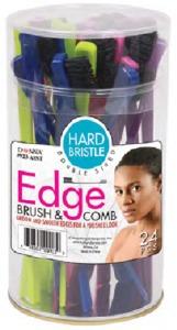 Donna Edge Brush & Comb 24pc #0923