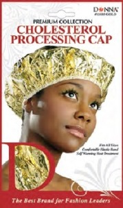 Donna Cholesterol Processing Cap, Gold