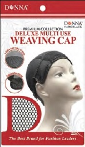 Donna Deluxe Multi-Use Weaving Cap, Black