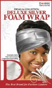 Donna Deluxe Foam Wrap, Silver