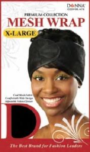 Donna Mesh Wrap X-Large, Black
