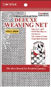 Donna Deluxe Weaving Net Small Hole, Black