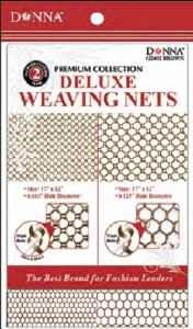 Donna Deluxe Weaving Nets 2pcs Brown