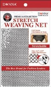 Donna Stretch Weaving Nets 2pcs, Black
