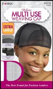 Donna Deluxe Multi-Use Weaving Cap X-Large, Black