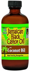 Doo Gro Jamaican Black Castor Oil with Coconut Oil 4oz