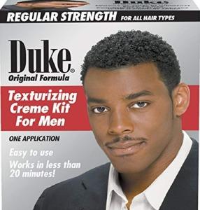 Duke Texturizer Creme Kit for Men One Application